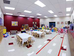 Daycare seating area