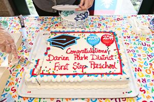 Cake art celebrating preschool