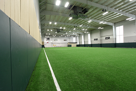 Fieldhouse for sports