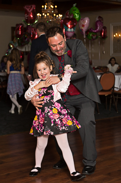 Dance moves at the father daughter dance