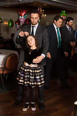 Fathers dancing with their daughters