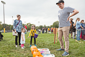 Halloween game at the park