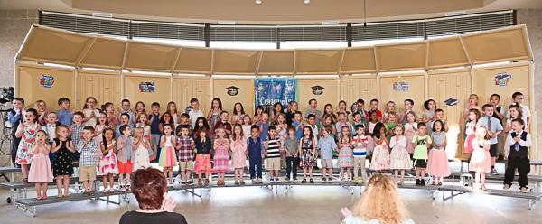 Preschool graduation event