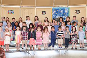 Preschool graduates