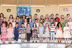 Preschool graduate photos